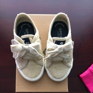 Toddler girl Sperry shoes
